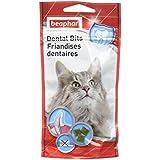 Beaphar Friandises Dents saines à la chlorophylle pour chat,  35 g