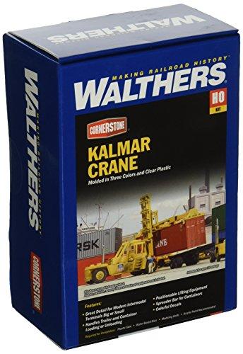 Spur H0 -- Bausatz Container Kran Fahrzeug Kalmar