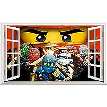Suchergebnis auf f r ninjago wandtattoo - Lego wandtattoo ...