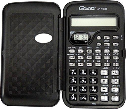 Innova® multifunktionaler Taschenrechner, wissenschaftlicher Taschenrechner mit Uhr für Schüler und Studenten