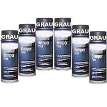Bote de Spray de 6Bumper barniz gris especial para plástico Parachoques