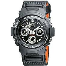 Casio G-Shock – Orologio Uomo Cinturino in Nailon AW-591MS-1AER - 1a G-shock Mens Watch