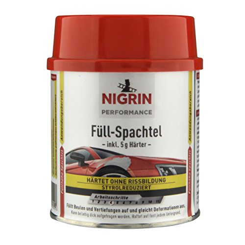 NIGRIN 72110 Performance Füll-Spachtel 250 g,