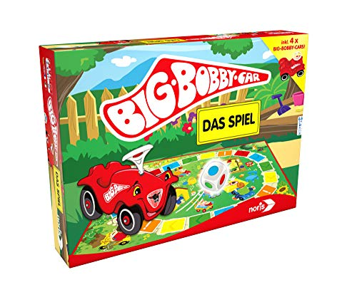 Noris 606013790 606013790-BIG-Bobby-Car Spiel, Kinderspiel