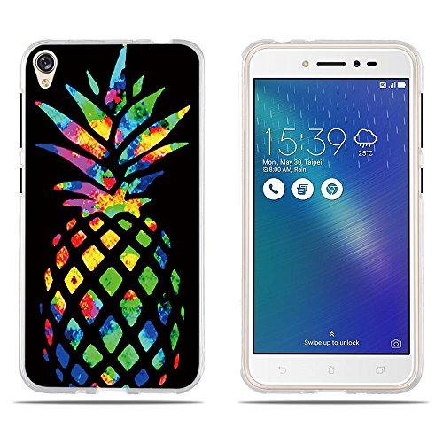 DIKAS ASUS Zenfone 3 Go ZB501KL Hülle, 3D Transparent Handyhülle Schutzhülle TPU Erleichterung Fantasie Muster Schutzhülle Silikon Case für ASUS Zenfone 3 Go ZB501KL/ Live ZB501KL- Pic: 09