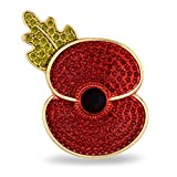 The Poppy Collection ® Brooch Gold Tone Medium