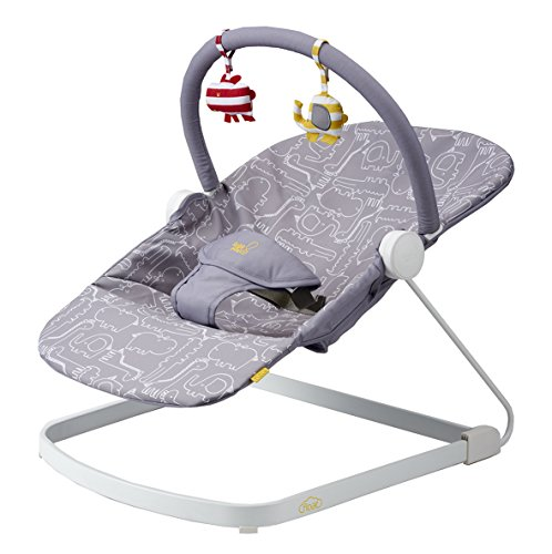 Bababing! Float Baby Bouncer (Grey) 51aSwv4o0iL