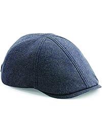 677a24423bff ASVP Shop Flat Cap with Peak  Shelby  Baker Boy Newsboy Herringbone Cloth Cap  Hat