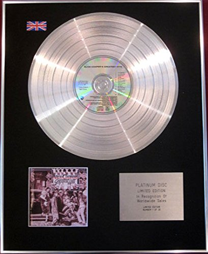 Alice Cooper - CD Platinum disc- Alice Cooper S Greatest...