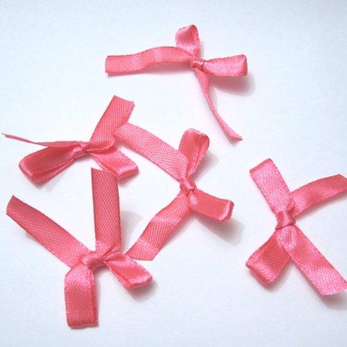 CS 7mm Satin-Schleifen–Hot Pink (Pink Ribbon-elemente)