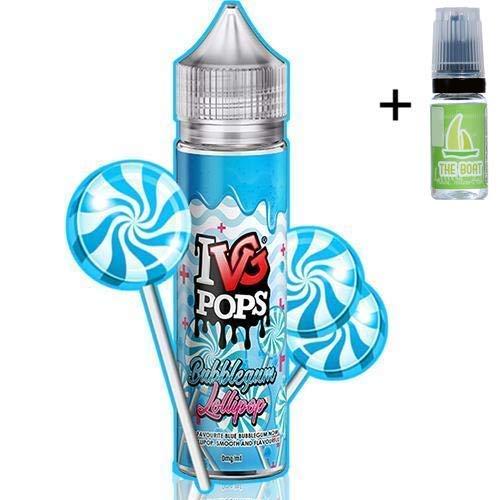 E Liquid IVG Pops Bubblegum Lollipop 50ml - 70vg 30pg-