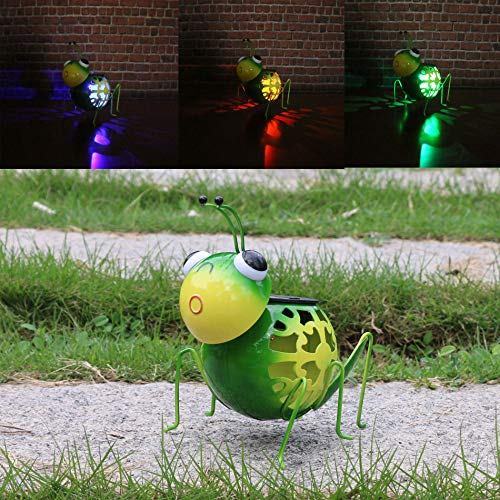 rt Outdoor Deko Tier Garten Decor LED Rasen-Caterpillar ()