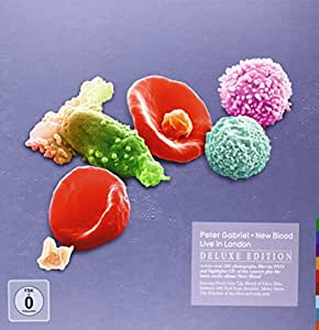 Peter Gabriel New Blood Live In London Deluxe Edition [DVD + Blu-ray + 2CD] [2012]
