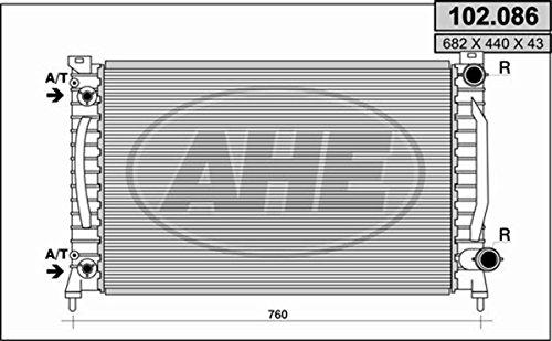 Preisvergleich Produktbild RADIAT.AUDI A6 I QUATTRO S6 / A6 II