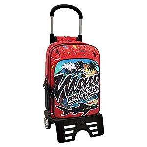 Maui Beach Mochila Escolar, 24.68 Litros, Color Rojo