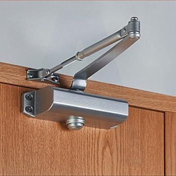 Ferme porte amortisseur de fermeture automatique r glable pour porte 25 35kg bricolage - Groom pour porte ...