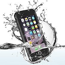Funda Impermeable Para iPhone 6/6s(4.7 inch) Móvil ,Easylife Carcasa Anti-agua a Prueba de Agua,Golpes,Polvo,Funda Protectora de Cubierta,Waterproof Case for iPhone 6s/6 (Negro)