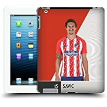 Official Atletico Madrid Stefan Savic 2017/18 First Team Group 1 Hard Back Case for iPad 3 / iPad 4