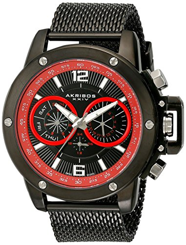 Akribos AK515BK - Reloj para hombres
