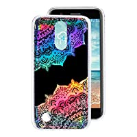 LG K10 2017 Back Case, LG K10 Soft Case, Rosa Schleife Ultra Thin Flexible Soft Gel TPU Rubber Silicone Bumper Phone Case Protective Shell Skin Cases Covers for LG K10 2017 Version