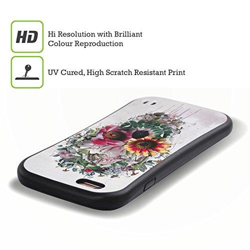 Ufficiale Riza Peker Spaventapasseri Teschi 6 Case Ibrida per Apple iPhone 7 / iPhone 8 Zucchero