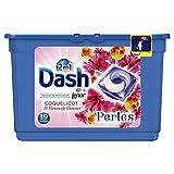 Dash 2en1 Perles Lessive en Capsules Coquelicot & Fleurs de Cerisier 19Lavages - Lot de 2