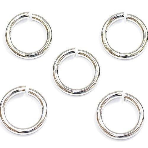 (Accessoire pièces / raccords métalliques) Grande boîte circulaire 2.0 x 14 mm couleur argent
