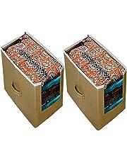 ARVANA Non - Woven Storage Boxes kurtis Organizer for Girls/Women Wardrobe And Closet Organizers