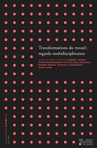 Transformations du travail : regards multidisciplinaires