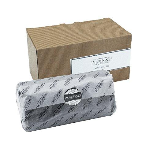 Herren-accessoires Jacob Jones Grey Washbag With Grey Checker Cotton Trim Kleidung & Accessoires