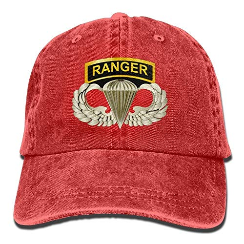 Airborne Tab (PhqonGoodThing 101st Airborne Ranger Tabs Mens & Womens Baseball Cap Retro Jean Snapback Hat)