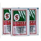chengyida 3paquetes Singer máquina de coser Agujas 2020/2045# 14