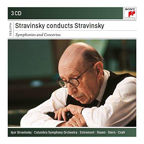 Stravinsky Conducts Stravinsky - Symphonies and Concertos