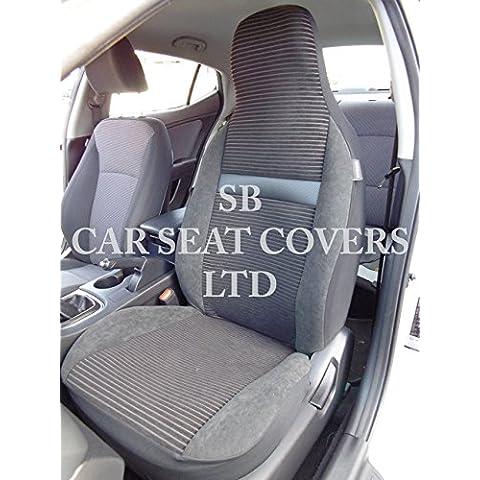 Per Land Rover Discovery, Seggiolino auto copre–Rossini vantoni, 2coprisedili anteriori