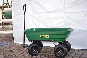 Blinky Argo Chariot en acier avec 4roulettes, benne, 80L