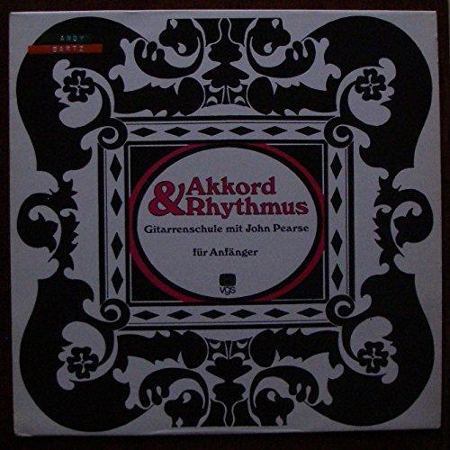 """PEARSE, JOHN / Akkord & Rhythmus / Gitarrenschule mit John Pearse für Anfänger / 1974 / Bildhülle / !!! OHNE Lehrheft !!! / vgs # F 65.084 / Deutsche Pressung / 12"""" Vinyl Langspiel Schallplatte /"""