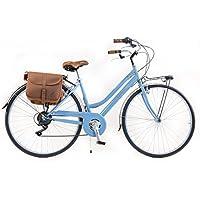 Via Veneto By Canellini Bicicleta Bici Citybike CTB Mujer Vintage Retro Via Veneto Acero Azul