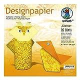 Ursus 22815199 - Designpapier Citrine
