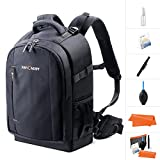 K&F Concept Camera Backpack Rucksack Waterproof with Rain Cover for 13.3'' laptop