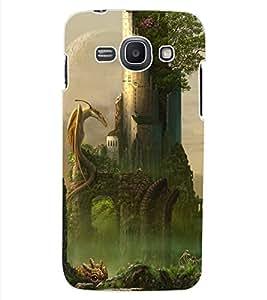 ColourCraft Dragon Design Back Case Cover for SAMSUNG GALAXY ACE 3 LTE S727