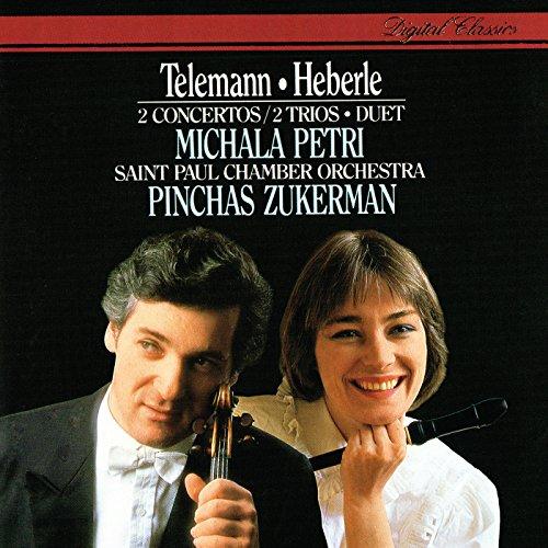Telemann: Trio Sonata for Recorder, Violin and Continuo in C, TWV42: C2 - 2. Allegro