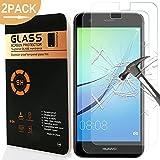Huawei Nova Protector de Pantalla, Yica 2 Pack Protector de Pantalla de Vidrio Templado Cristal Protector para Huawei Nova 0.25mm Dureza 9H [Ultra-trasparente] [Sin burbuja] Protector de Pantalla para Huawei Nova