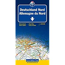 Carte routière et touristique : Allemagne du Nord