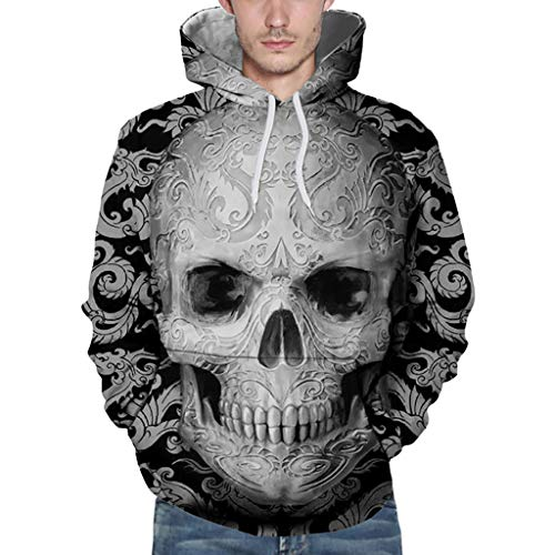 SANFASHION Damen Herren Kapuzenpullover Unisex Loves   Sweatshirt Casual  Herbst Winter Mode 3D Druck Langarm Hoodies Outwear Pullover ee7940d256