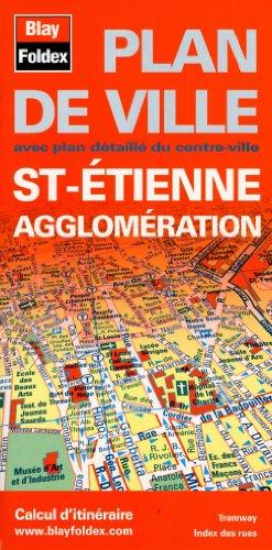 Plan de Saint-Étienne et de son agglomération