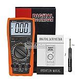 nktech Vici VC9805A + Digital Multimeter DMM LCR-Messgerät Temperatur Induktivität Kapazität Widerstand Frequenz 2000uf AC DC Spannung Strom HFE-Test mit tl-1Schraubendreher