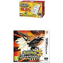 Nintendo 2DS - Consola, Color Rojo + New Super Mario Bros 2 (Preinstalado) + Pokémon Ultrasol