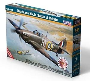 Mistercraft MCD180 Hurricane MK.1a Batalla de Gran Bretaña, 1:72, Multi