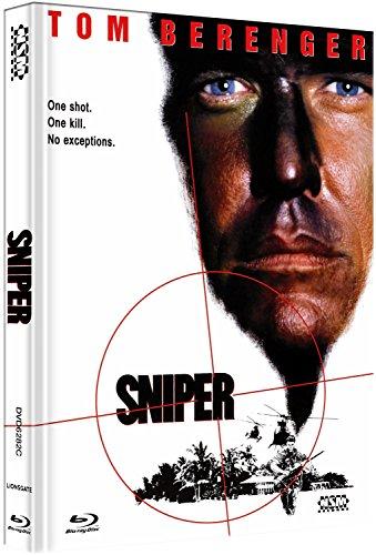 Sniper – der Scharfschütze  [Blu-Ray+DVD] – uncut – auf 444 limitiertes Mediabook Cover C