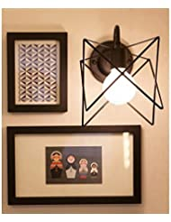 Cafe moderno dormitorio den restaurante pasillo pared lámpara